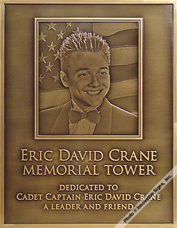 Crane_Plaque_Engraved_Bronze_Memorial_Plaque