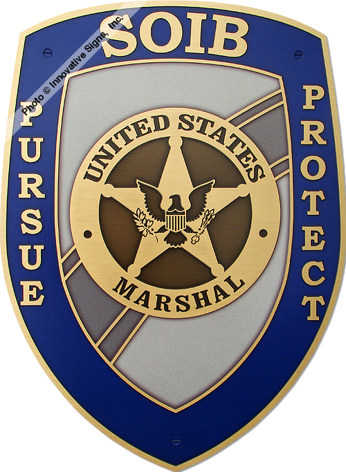 US_Marshals_SOIB_CU_Engraved_Bronze_Government_Facility_Plaque